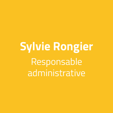 Sylvie Rongier Responsable administrative